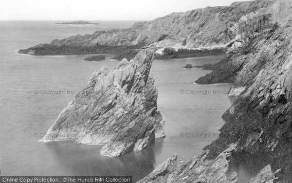 Photo of Amlwch, The Cliffs c.1935