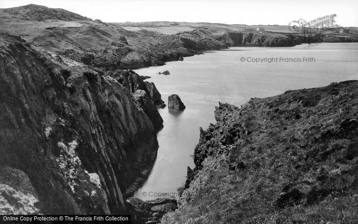 Photo of Amlwch, View Towards Bull Bay c.1955
