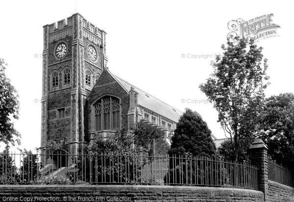 Photo of Ammanford, All Saints' Church 1936