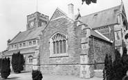 Ammanford, All Saints Church c.1960