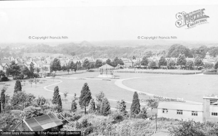 Photo of Ammanford, Ammanford Park c.1960