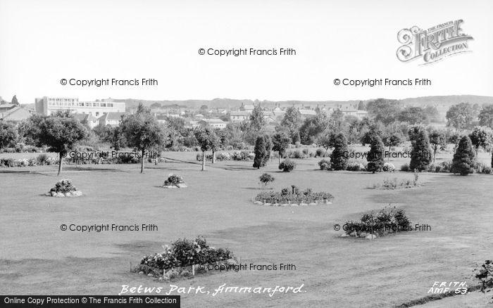 Photo of Ammanford, Betws Park c.1960