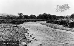 Ammanford, River Amman c.1955
