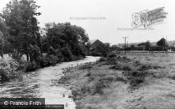 Ammanford, River Loughor c.1955