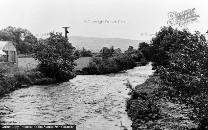 Photo of Ammanford, River Loughor c.1955