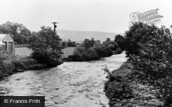 Ammanford, River Loughor c.1955