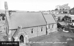 Ammanford, St Michael's Church c.1960
