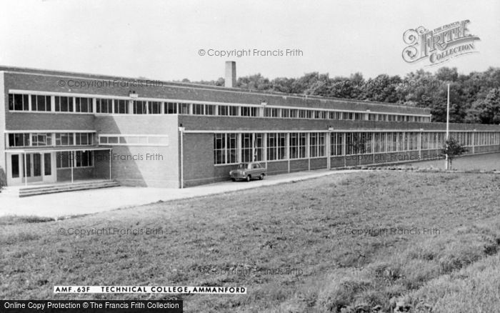 Photo of Ammanford, Technical College c.1960