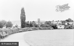 Ammanford, The Park c.1955