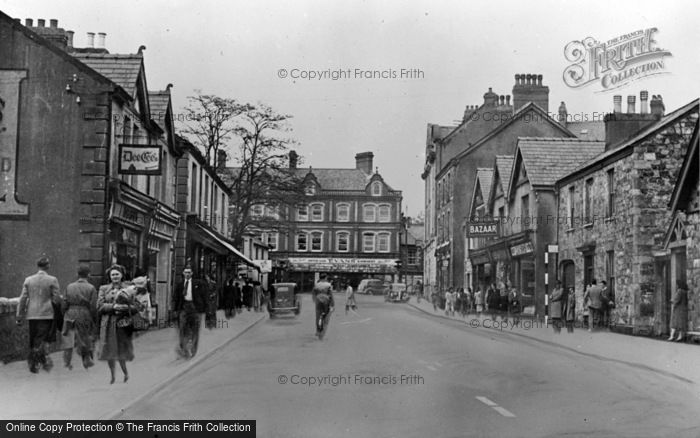 Photo of Ammanford, The Square From Wind Street c.1950