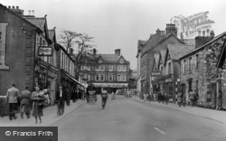 Ammanford, The Square From Wind Street c.1950