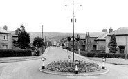 Ammanford, Tirydail Lane And Bettws Mountain c.1955