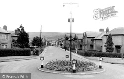 Ammanford, Tirydail Lane And Bettws Mountain c.1955