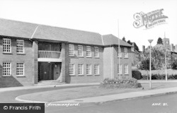 Ammanford, Town Hall c.1965