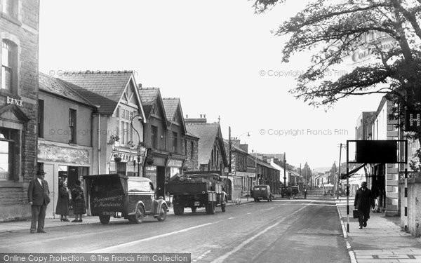 Ammanford, Wind Street c.1955