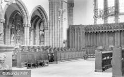 Ampleforth, Abbey, The Choir c.1950
