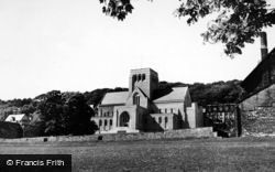 Ampleforth, Ampleforth Abbey c.1950