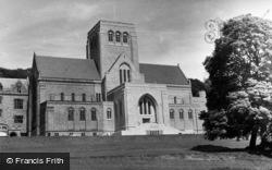 Ampleforth, College, Abbey Church c.1955