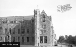 Ampleforth, College, Clock Tower And Study Block c.1950