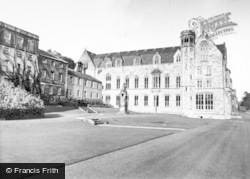 Ampleforth, College, Clock Tower And Study Block c.1955
