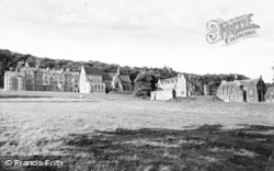 Ampleforth, College From South c.1955