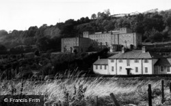 Ampleforth, College, Infirmary And Bolton House c.1955