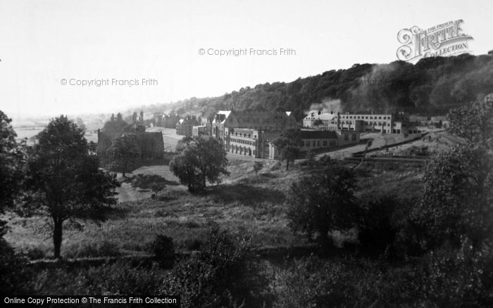 Photo of Ampleforth, College, Library And Study Block c.1955