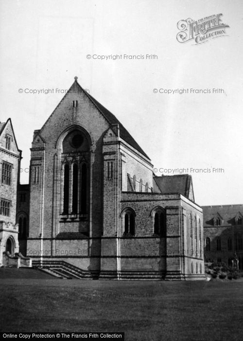 Photo of Ampleforth, College, The Abbey Church c.1950