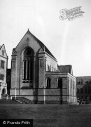 College, The Abbey Church c.1950, Ampleforth