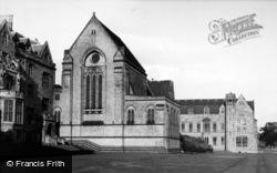 Ampleforth, College, The Church c.1955