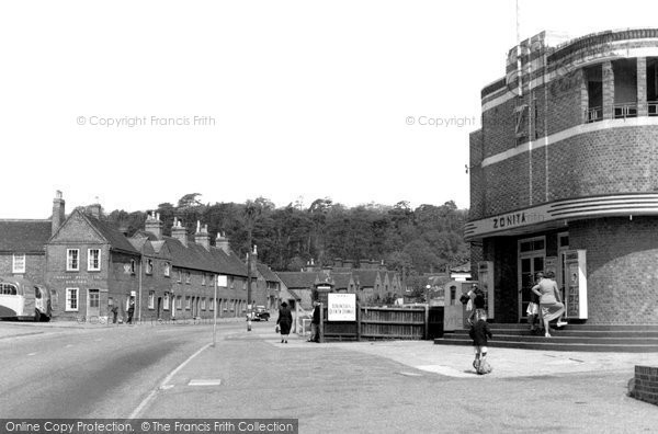 Photo of Ampthill, Bedford Street c1955