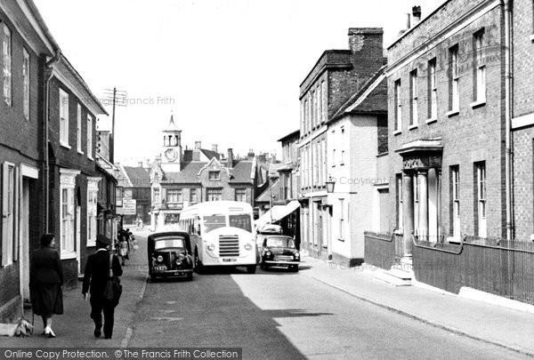 Photo of Ampthill, Church Street c1955