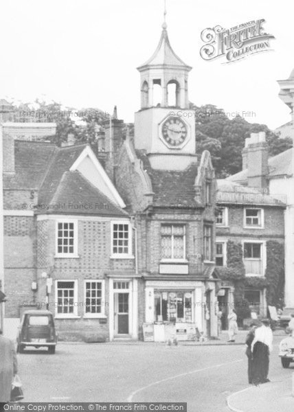 Photo of Ampthill, Clock Tower c.1960