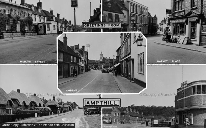 Photo of Ampthill, Composite c.1955