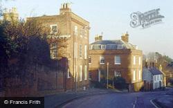 Georgian Houses In Church Street c.1980, Ampthill