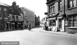 Market Place c.1955, Ampthill