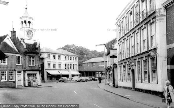 Photo of Ampthill, Market Place c.1965