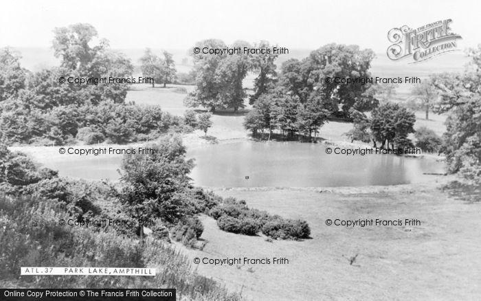 Photo of Ampthill, Park Lake c.1955