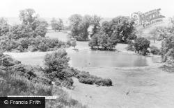 Ampthill, Park Lake c.1955