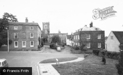 Ampthill, St Andrew's Church And Rectory Lane c.1965