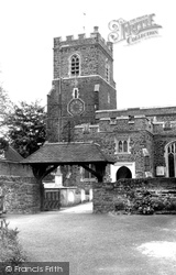 Ampthill, St Andrew's Church c.1955