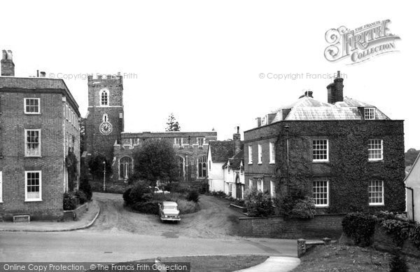 Ampthill, St Andrew's Church c.1965