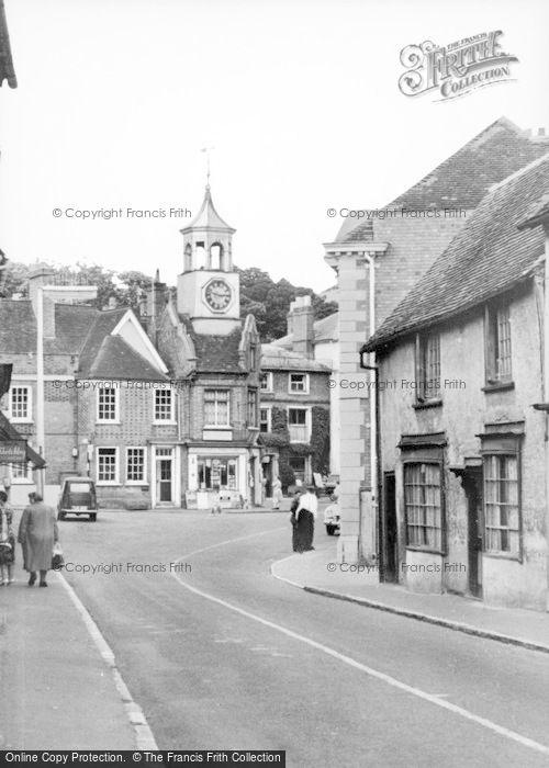 Photo of Ampthill, View From Dunstable Street c.1960