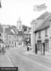 Ampthill, View From Dunstable Street c.1960