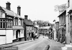 Woburn Road c.1955, Ampthill