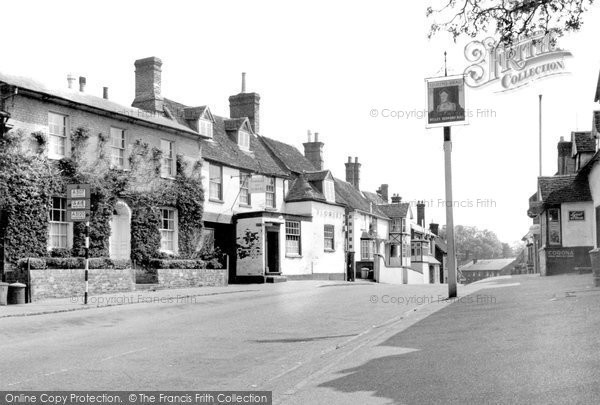 Photo of Ampthill, Woburn Street c.1955