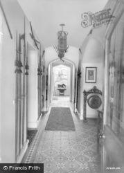 Amroth, Castle, Armoury c.1955