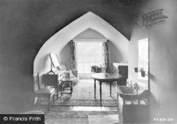 Amroth, Castle, Bedroom c.1955