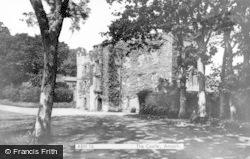 Amroth, Castle c.1955