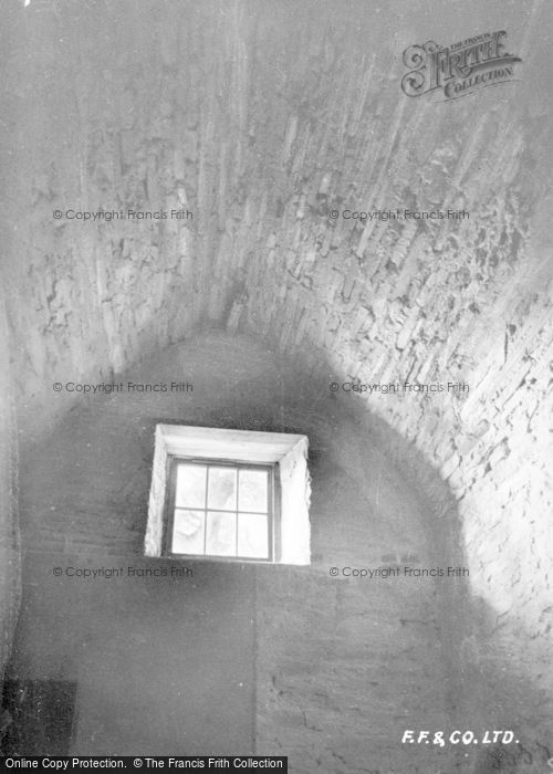 Photo of Amroth, Castle, Window c.1939